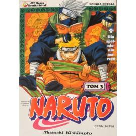 Manga Naruto tom 3