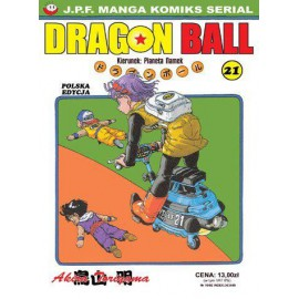 Manga - Dragon Ball tom 21