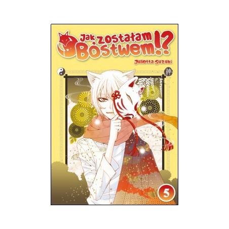 Manga - Jak zostałam Bóstwem tom 5