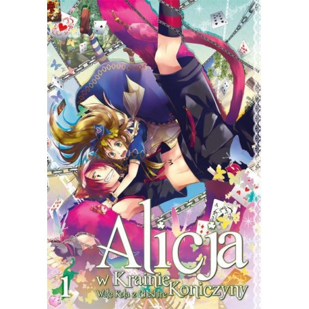 Manga Alicja w Krainie Koniczyny - Walc Kota z Cheshire tom 1