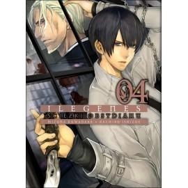Manga Ilegenes - Ścieżki obsydianu tom 4