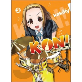 Manga K-ON! tom 3