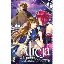 Manga Alicja w Krainie Koniczyny tom 2