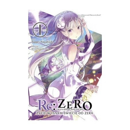 Light Novel'a - Re:Zero kara Hajimeru Isekai Seikatsu tom 1