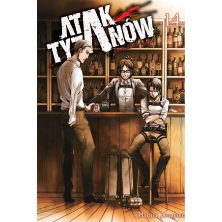 Manga - Attack on Titan tom 14