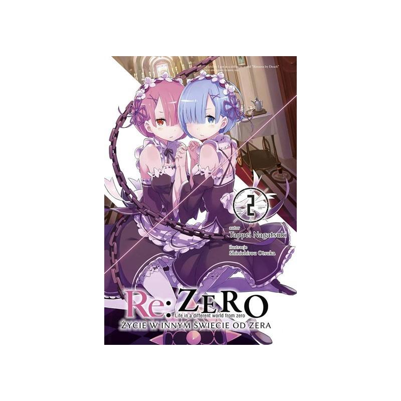 Light Novel'a - Re:Zero kara Hajimeru Isekai Seikatsu tom 2