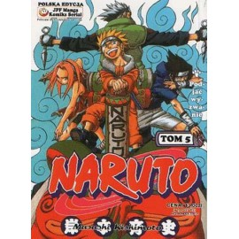 Manga Naruto tom 5