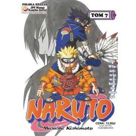 Manga Naruto tom 7