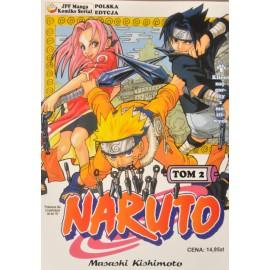 Manga Naruto tom 2