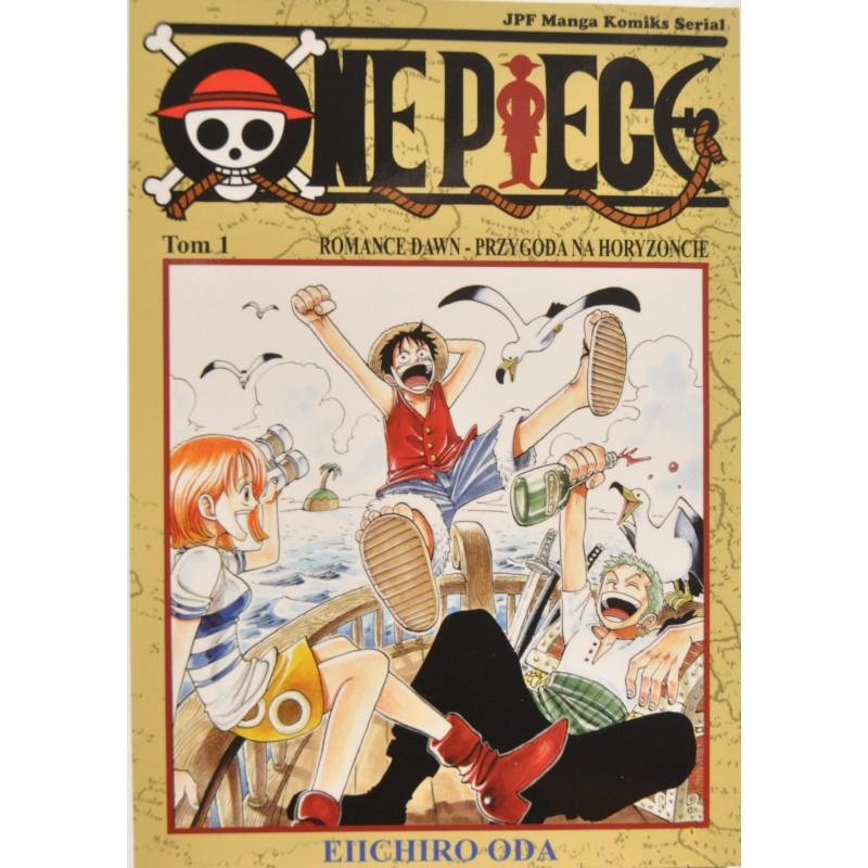 Manga One Piece tom 1