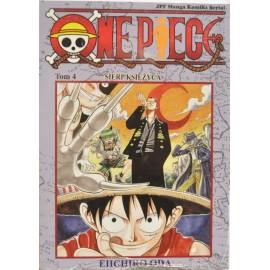 Manga One Piece tom 4