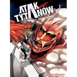 Manga - Attack on Titan tom1