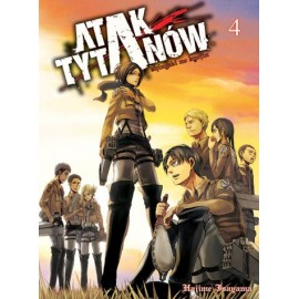 Manga - Attack on Titan tom 4
