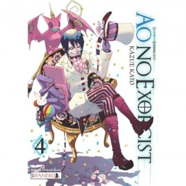 manga Ao no Exorcist tom 4