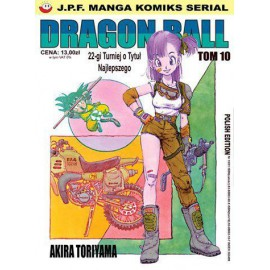 Manga - Dragon Ball tom 10