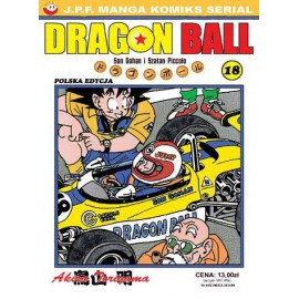 Manga - Dragon Ball tom 18