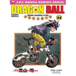 Manga - Dragon Ball tom 34