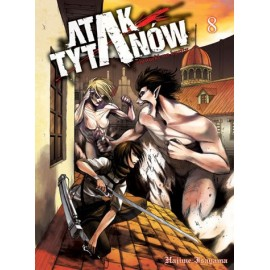 Manga - Attack on Titan tom 8