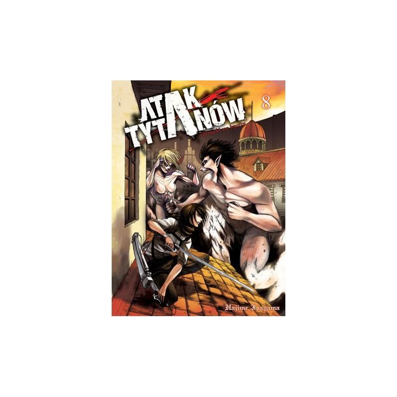 Manga Tom 8 Shingeki No Kyojin