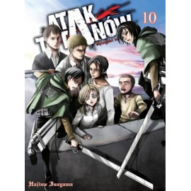 Manga - Attack on Titan tom 10