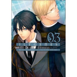 Manga Ilegenes - Ścieżki obsydianu tom 3
