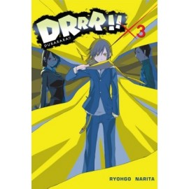 Durarara - Light novel tom 3