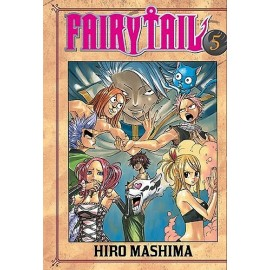 Manga - Fairy Tail tom 5