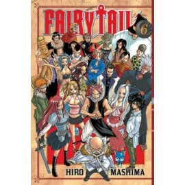 Manga - Fairy Tail tom 6