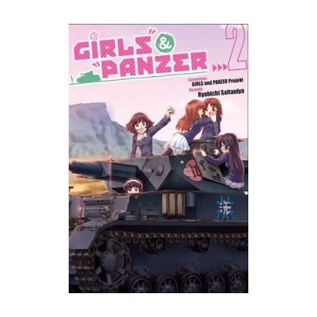 Girls und Panzer - tom 2