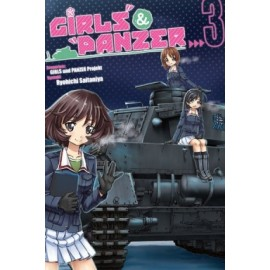 Girls und Panzer - tom 3