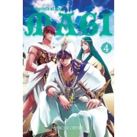 Magi: the labyrinth of magic - tom 4