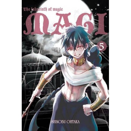 Magi: the labyrinth of magic - tom 5