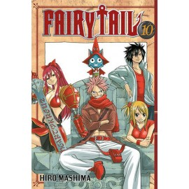 Manga - Fairy Tail tom 10
