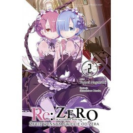 Light Novel'a - Re:Zero kara Hajimeru Isekai Seikatsu tom 2