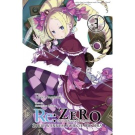 Light Novel'a - Re:Zero kara Hajimeru Isekai Seikatsu - tom 3