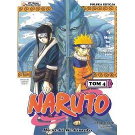 Manga Naruto tom 4