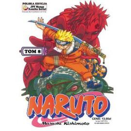 Manga Naruto tom 8