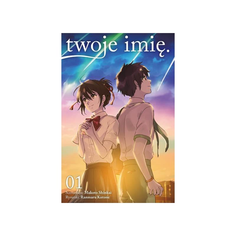 Kimi no na wa. - manga tom 1