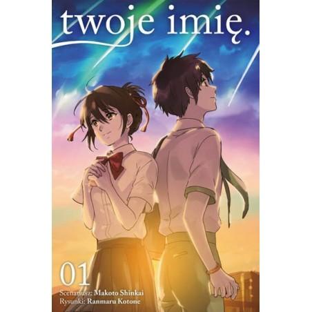 Manga Kimi no na wa. - tom 1