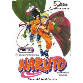 Manga Naruto tom 20