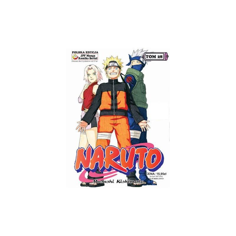 Manga Naruto tom 28