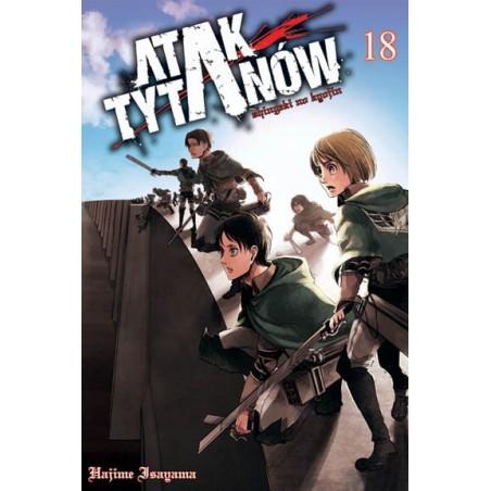 Manga - Attack on Titan tom 18
