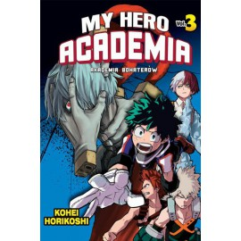 Manga - Boku no Hero Academia tom 3