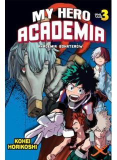 Manga - Boku no Hero Academia tom 3