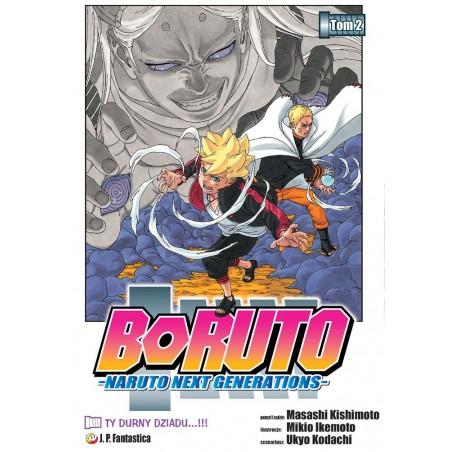 Manga - Boruto tom 2