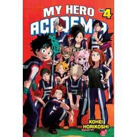 Manga - Boku no Hero Academia tom 4