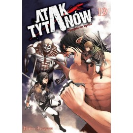 Manga - Attack on Titan tom 19