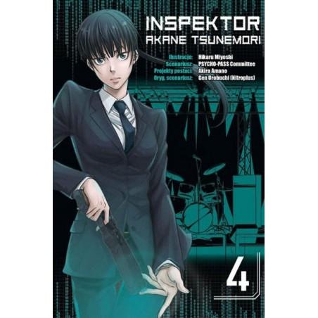 Inspektor Akane Tsunemori Tom 4