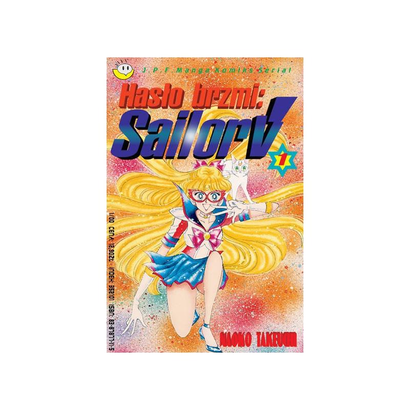 Hasło brzmi Sailor V - Tom 1