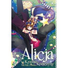 Manga Alicja w Krainie Koniczyny tom 3